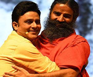 SK with Baba Ramdev ji