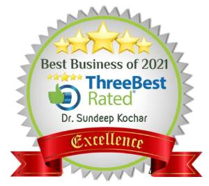 Certificate of excellence - Best Business of 2021